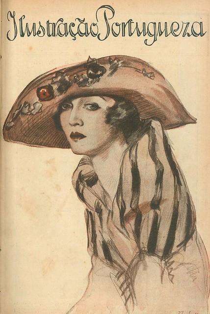 Capa de revista antiga, 1921   old magazine cover