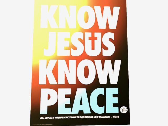 Grace Baptist Church - Know, Jesus; Know Peace