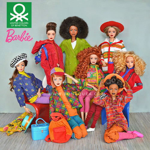 Barbie Benetton Collection