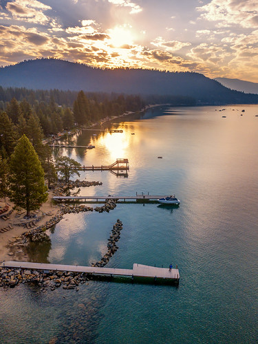 laketahoe tahoevista california unitedstates us sunrise mavic drone clouds dji