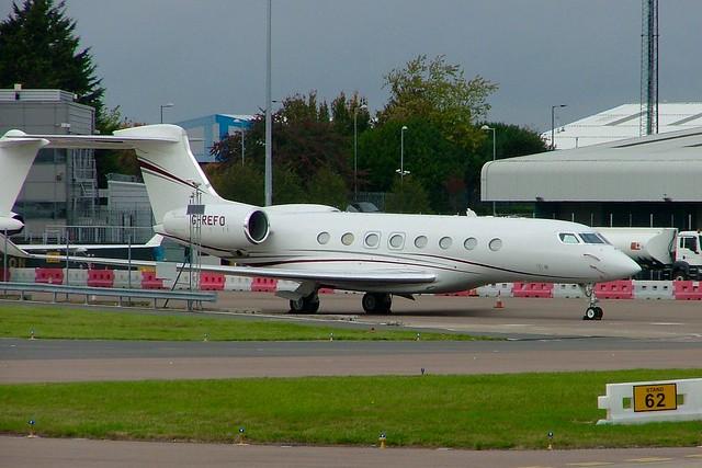 Gulfstream G650 G-REFO (c/n 6075)