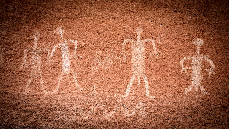 White Pictographs
