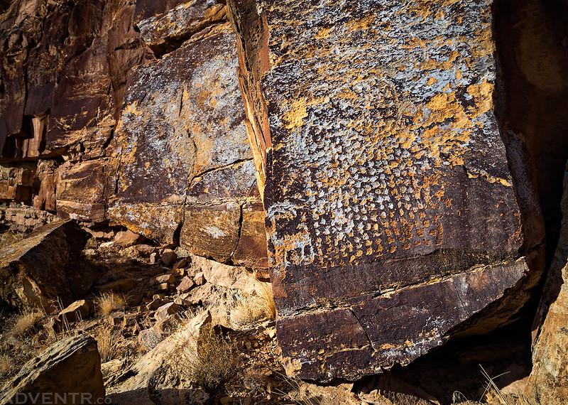 Blue Lichen Boulder