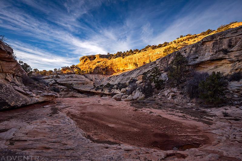 Evening Canyon Hiking