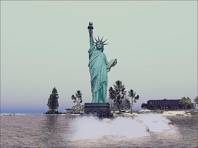 Battery Park, NY - Lady Liberty
