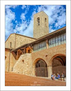 Church Tower, Piazza Luigi Pecori, San Gimignano, Tuscany,Italy