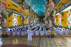 Cao Dai Ceremony