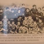 Orphans from the massacre in Shushi, Artsakh