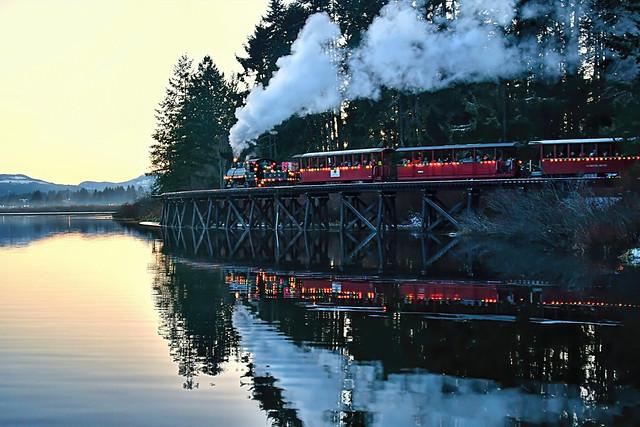 Christmas train . . .