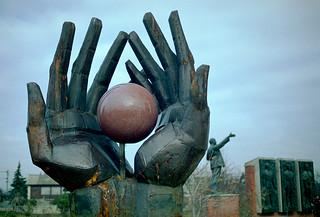 Budapest communist park statues