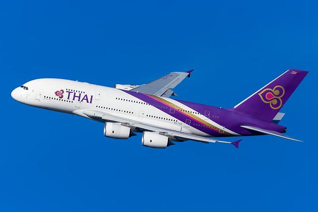 HS-TUA | A388 | THAI | EGLL