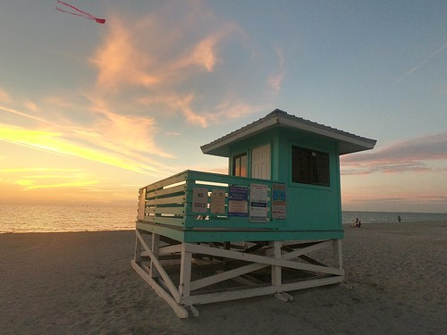 views vibes wayoflife travellifestyle travellife travel clouds sand sunset veniceflorida beach pretty lifeguardstation lifeguard gopro