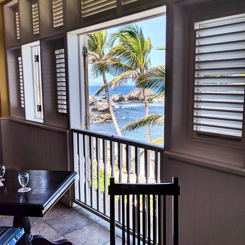 window beach caribbean water ocean restaurant table blue view palm tree publicfavorites favorite public reviewed pictorial published mac