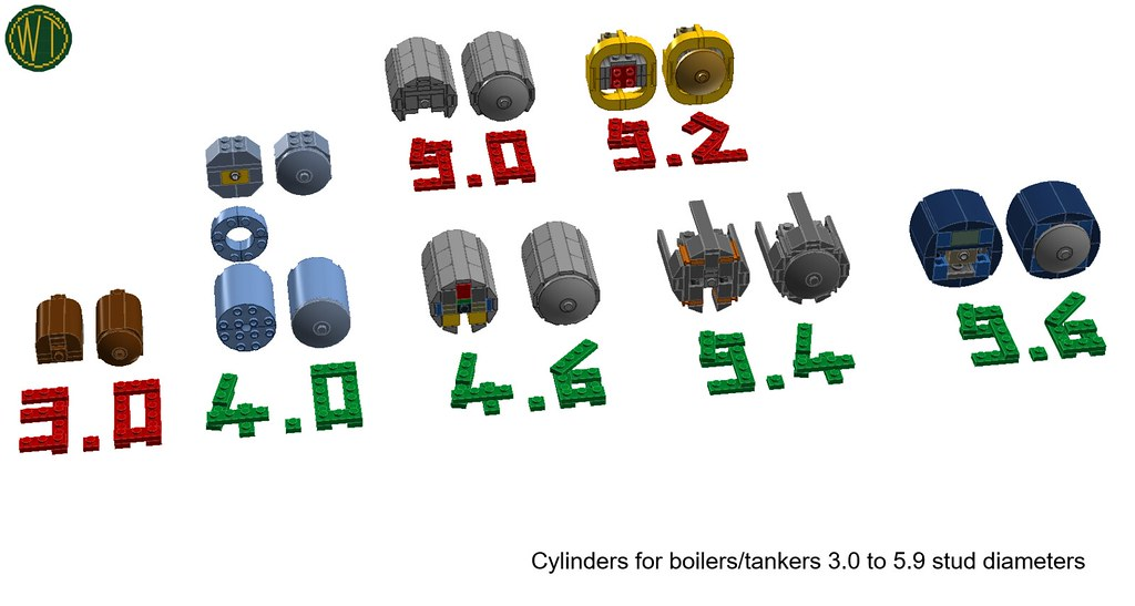 09. cylinder tanks v07pt1 at 3.0, 4.0, 4.6, 5.0, 5.2, 5.4 and 5.6 diameters