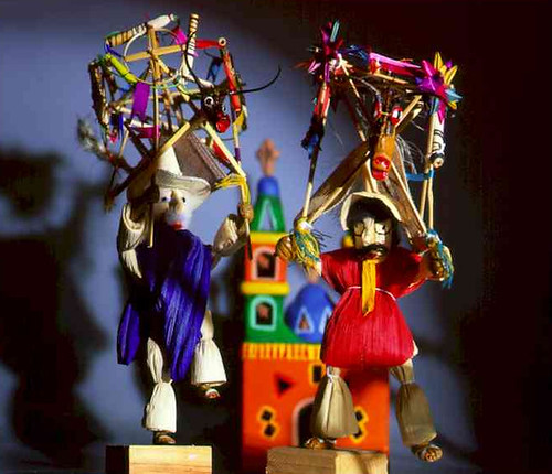 fireworks puppets from mexico reminding us of guy fawkes