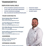 Tamworth branch overview