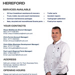 Hereford branch overview