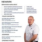 Newark branch overview