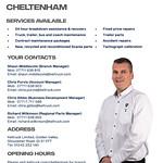 Cheltenham branch overview