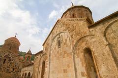 Dadivank Armenian monastery wide view