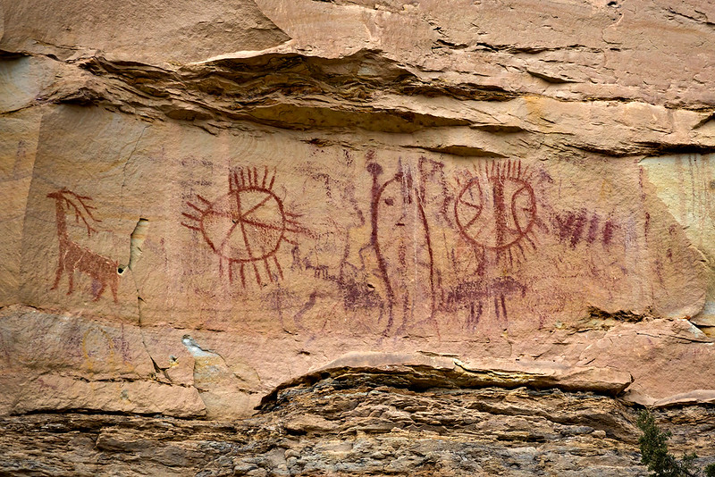 High Pictographs II