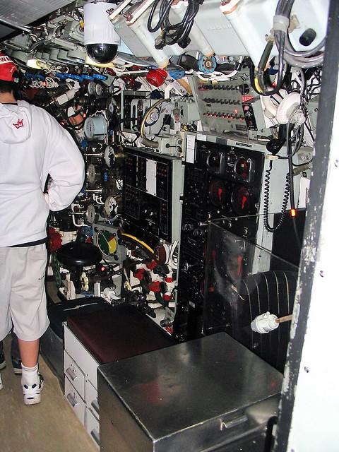 28 September 2004 - Interior shot of the ex-R.A.N. Oberon-class submarine HMAS