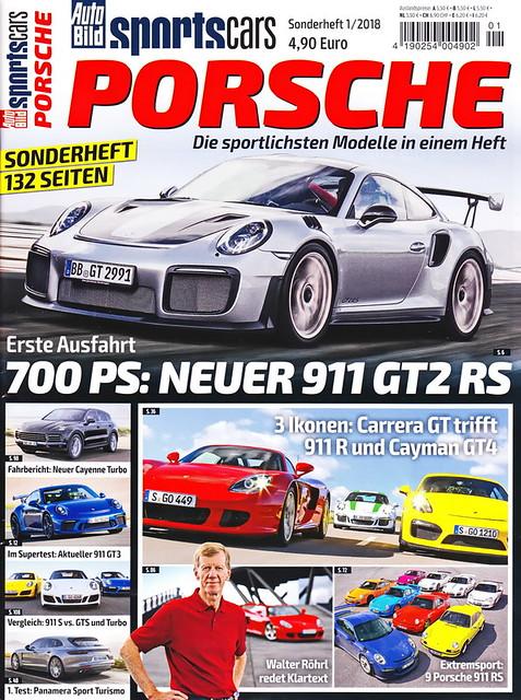 Auto Bild Sportscars - Sonderheft 1/2018