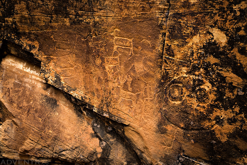 Sids Mountain Petroglyphs