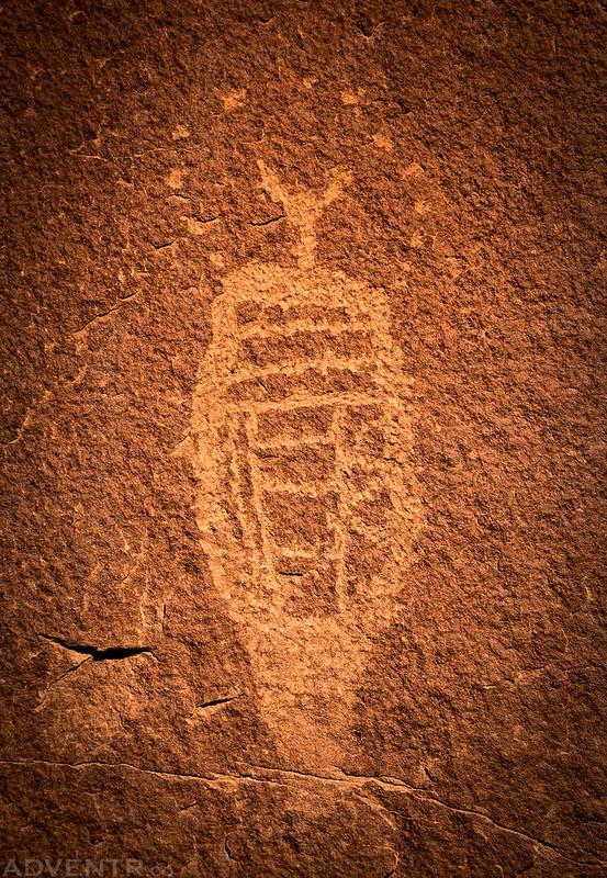 Little BCS Petroglyph