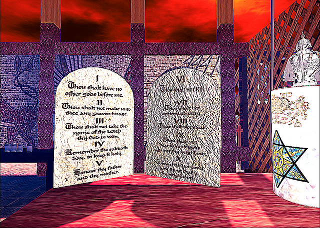 TMA Synagogue - Ten Commandments Revealed