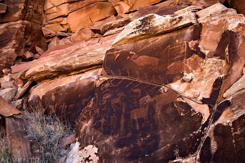 Petroglyph Boulder