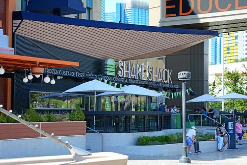Shake Shack at the NY-NY Las Vegas NV, USA 10-01-17: The f ...