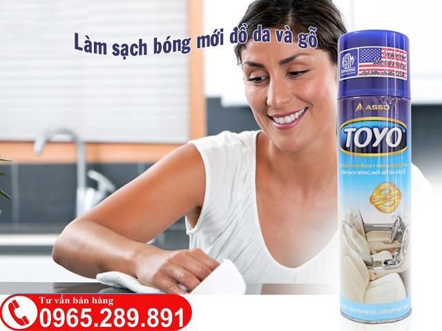 Chai xit lam bong be mat Toyo - 2