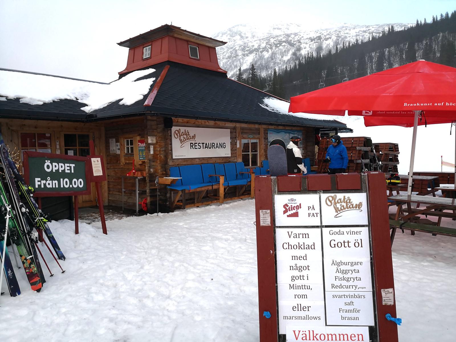Platåkåtan restaurant