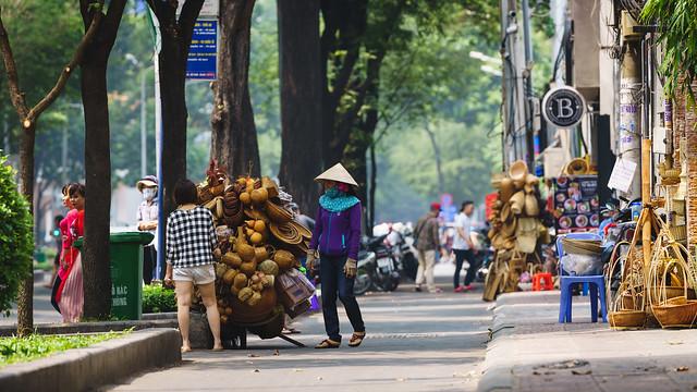 Street souvenir shops