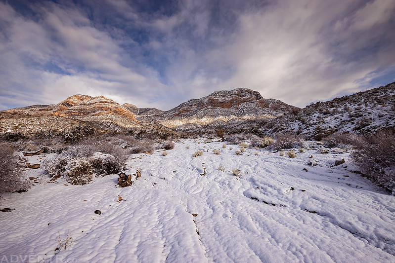 Red Rock Canyon Snow
