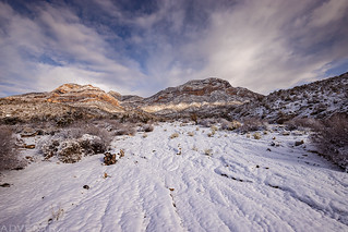 Red Rock Canyon Snow | by IntrepidXJ