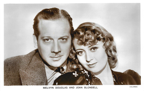 Melvyn Douglas and Joan Blondell in There's Always a Woman (1938)
