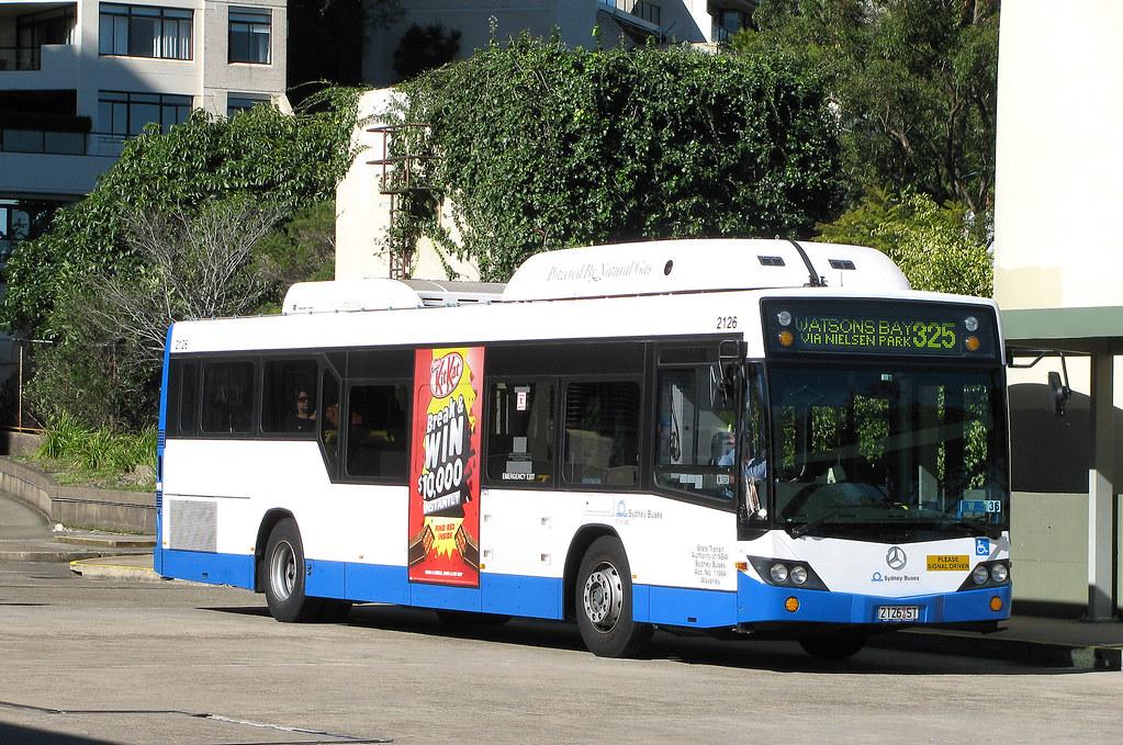 Bus 2126, Edgecliff, Sydney, NSW.