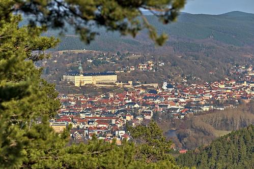 deutschland landschaft ort rudolstadt heidecksburg thüringen thuringia darktable samsungnx town castle