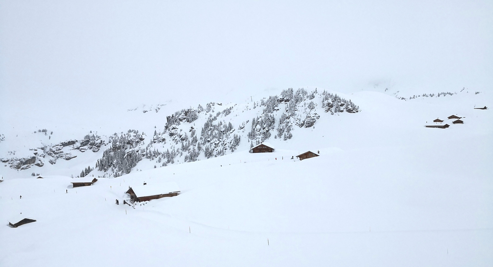 Mountain lodging at Mägisalp