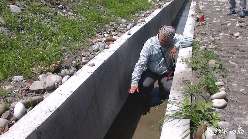 建造的排水溝又高又長,被批評就是陷阱。