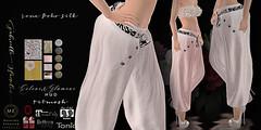 Lena Boho Silk 'n Prints Glamour HUD Pants