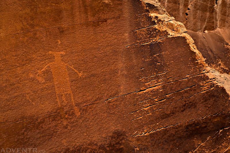 Single Petroglyph