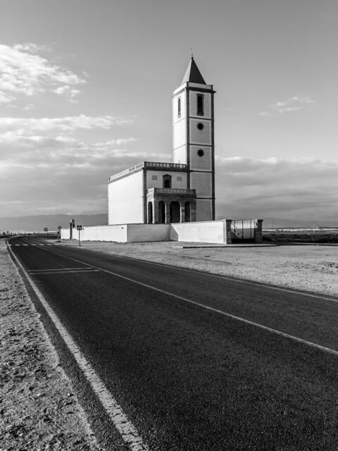 Almería - Iglesia de las Salinas (9) - BN