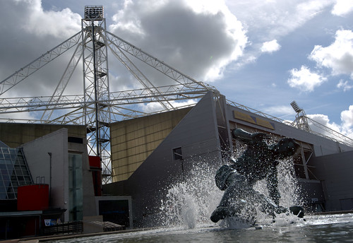 Tom Finney statue and Preston North End Football Stadium | by Tony Worrall