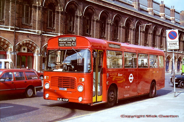 1976 Bristol LH BL35 KJD435P fresh from garage repaint summer of 1985