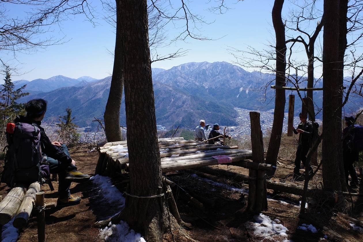 新倉山・御殿からの展望