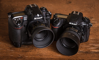 Duel // Nikon D2H (2003) / Nikon D500 (2016) | by maoby
