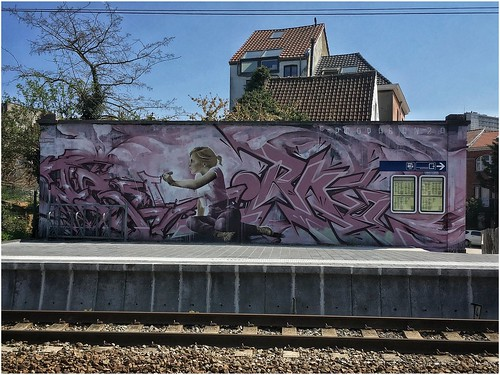 Iota et Orkez (Gare de Forest-Est, Bruxelles)